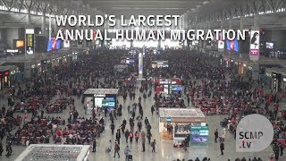 Chinese New Year travel: the world's largest annual human migration