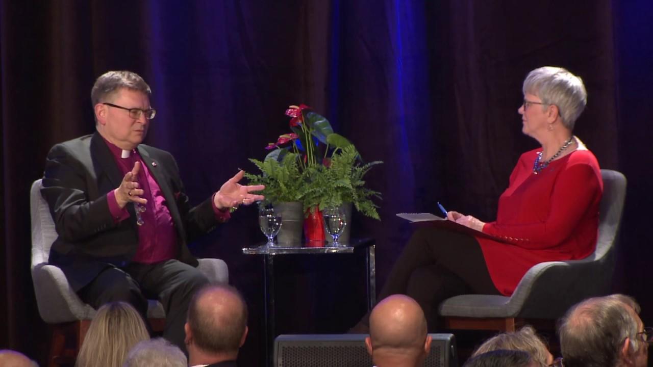 Archbishop Colin Johnson in Conversation with Judy Maddren
