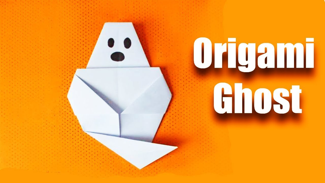 Halloween origami ghost make a easy origami ghost youtube halloween origami ghost make a easy origami ghost jeuxipadfo Gallery