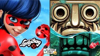 Miraculous Ladybug & Cat Noir VS Temple Run 2 [JEAN BENITEZ CAPTAIN, PIRATE COVE]