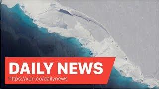 Daily News - Giant Void Hidden Under Antarctica's Ice Threatens Vast Glacier