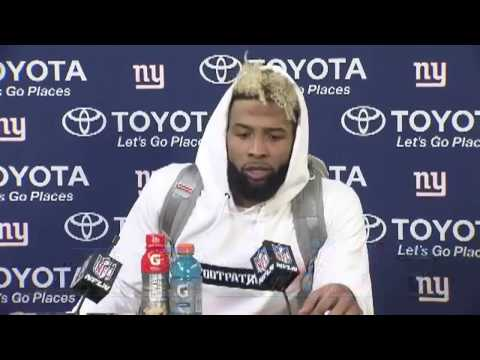 Odell Beckham Jr. Post Game Press Conference | Giants vs Packers Playoffs