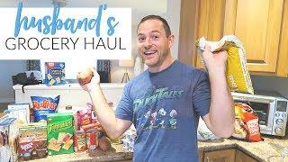 Grocery Haul | Husband Goes Shopping!