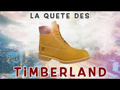 Montreal : La quête des timberland