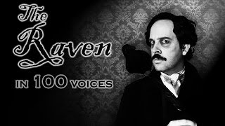 The Raven in 100 Voices
