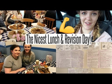 VLOG: The Nicest Lunch & Revision Day (again)