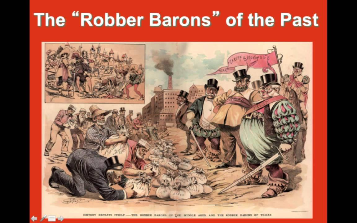 the myth of the robber barons essay We have put together a team of expert essay writers who are highly competent in effective academic writing back to homepage myth of the robber barons book report.