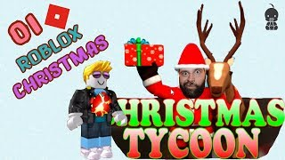 ROBLOX CHRISTMAS TYCOON! Toy Factory the North Pole Christmas Songs Holiday Swords baby go! show