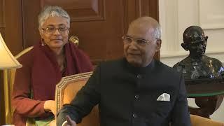 Встреча С.В.Лаврова с Президентом Индии Р.Н.Ковиндом