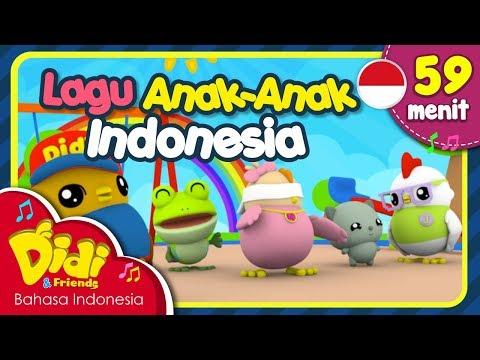 Lagu Anak Balita Indonesia   Pok Ame Ame & Lain-lain   Didi & Friends   59 Menit