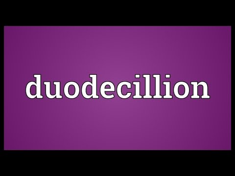 Septendecillion Meaning
