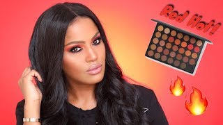 Hey #Shaysquad! I created this Red Hot eyeshadow look using the mor...