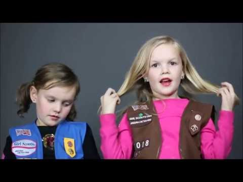 Kaylee and Lexi's 2015 Girl Scout Commercial | Blank Space
