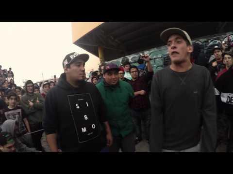 Klan MKS vs Traka Hereje | Semis | BajoCeroEdition | Barras de Hielo | Río grande