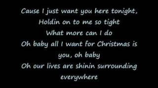My Chemical Romance - All I Want For Christmas Is You (Lyics)