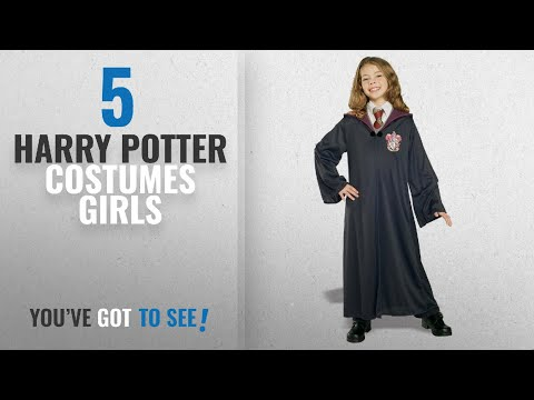 Top 10 Harry Potter Costumes Girls [2018]: Rubie's Harry Potter Child's Hermione Granger Costume