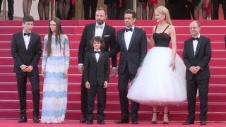 Colin Farrell, Director Yorgos Lanthimos, Nicole Kidman And More On The Red Carpet In Cannes