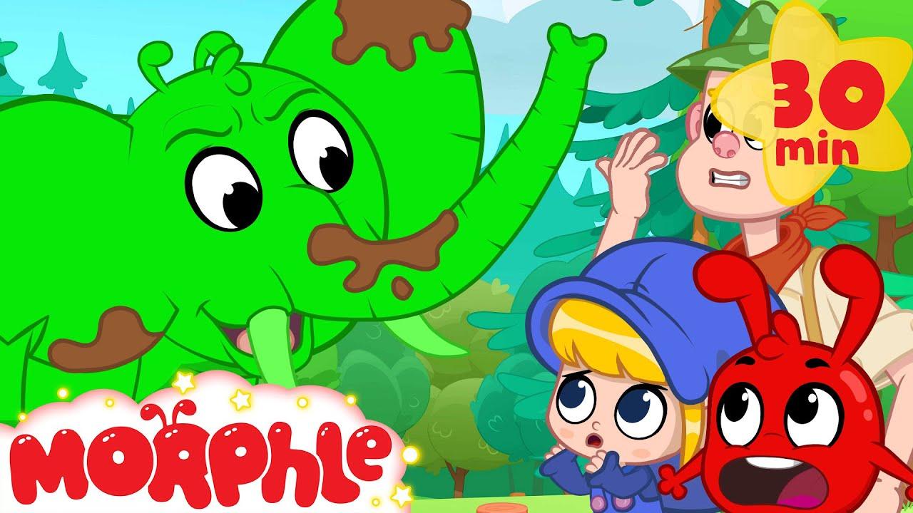 Animal Spotting Orphle + More Mila and Morphle Cartoons | Morphle vs Orphle - Kids Videos