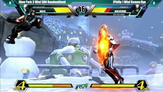 NEC15 - UMVC3 - Curleh Mustache Battle Royale 4 - New York 1 vs Philly