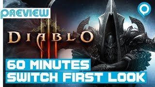 DIABLO 3 (SWITCH) | 1 HOUR Direct Feed Gameplay | Gamescom 2018