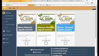 GOLDCLUB WEB PAGE USE AND HOW TO REGISTER