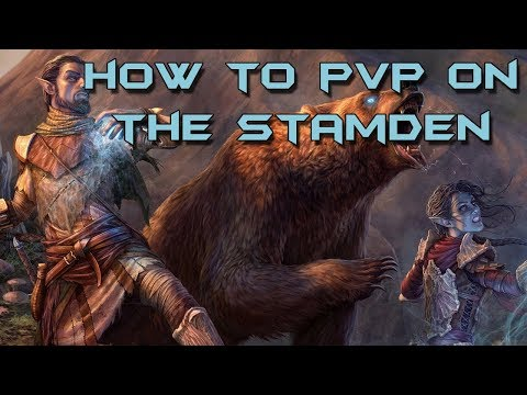 ESO - How to PvP on the Stamina Warden