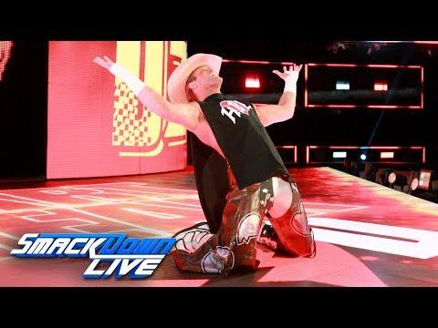 Dolph Ziggler mocks HBK's entrance and other Legends: SmackDown LIVE, Sept. 19, 2017