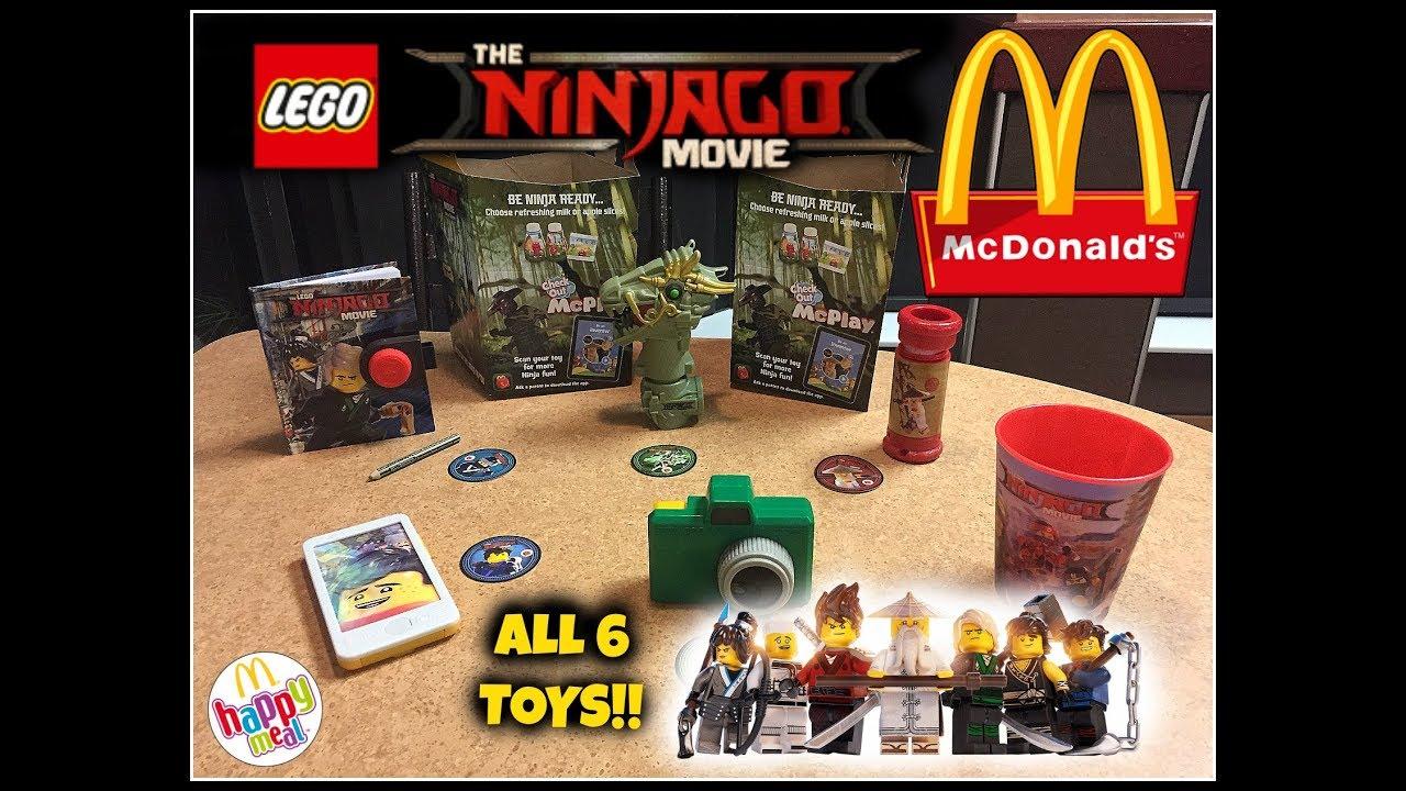 2017 Mcdonalds Minion Toys