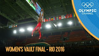 Women's Vault Final - Artistic Gymnastics | Rio 2016 Replays