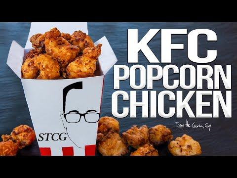 KFC Style Popcorn Chicken Recipe | SAM THE COOKING GUY 4K