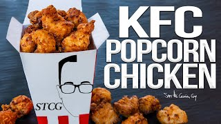 KFC Style Popcorn Chicken Recipe | SAM THE COOKING GUY 4K