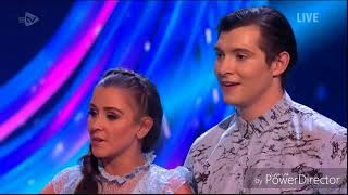 Brooke Vincent and Matej Silecky skating in Dancing on Ice: Semi Final (Second Skate) (4/3/18)