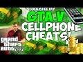 GTA 5 Cell Phone Cheat Codes (Cheats In Description)