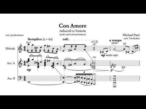 Con Amore by Michael Patti (W/Score Reduction)