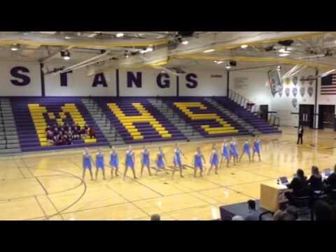 Glenbard West High School Varsity Dance 2016 Sectionals