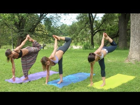 Yoga Advanced Standing Balancing Poses GetFitWithLeyla