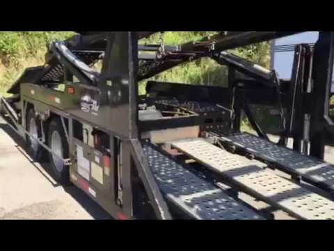 2012 Wally-Mo (7) Car Carrier U3940 Video - YouTube