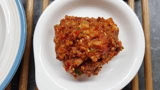 쌈장 만드는법 달지 않은 맛있는 고깃집 양념된장 레시피