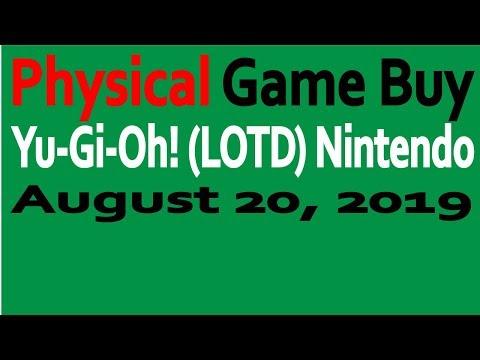 Physical Video Game Buy:Yu-Gi-Oh! LOTD ( NIntendo Switch )