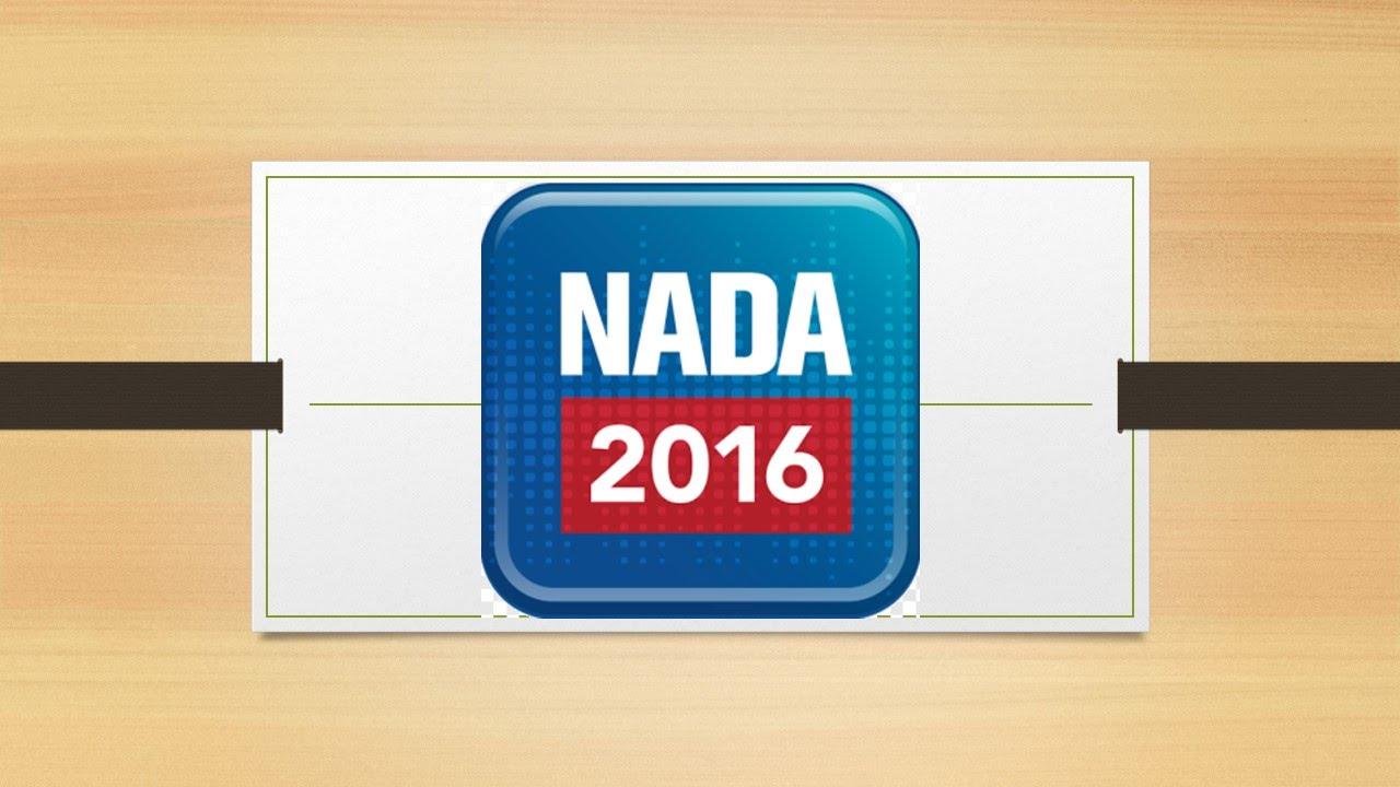 Nada 2016 Las Vegas Il Futuro Del Mondo Auto Youtube