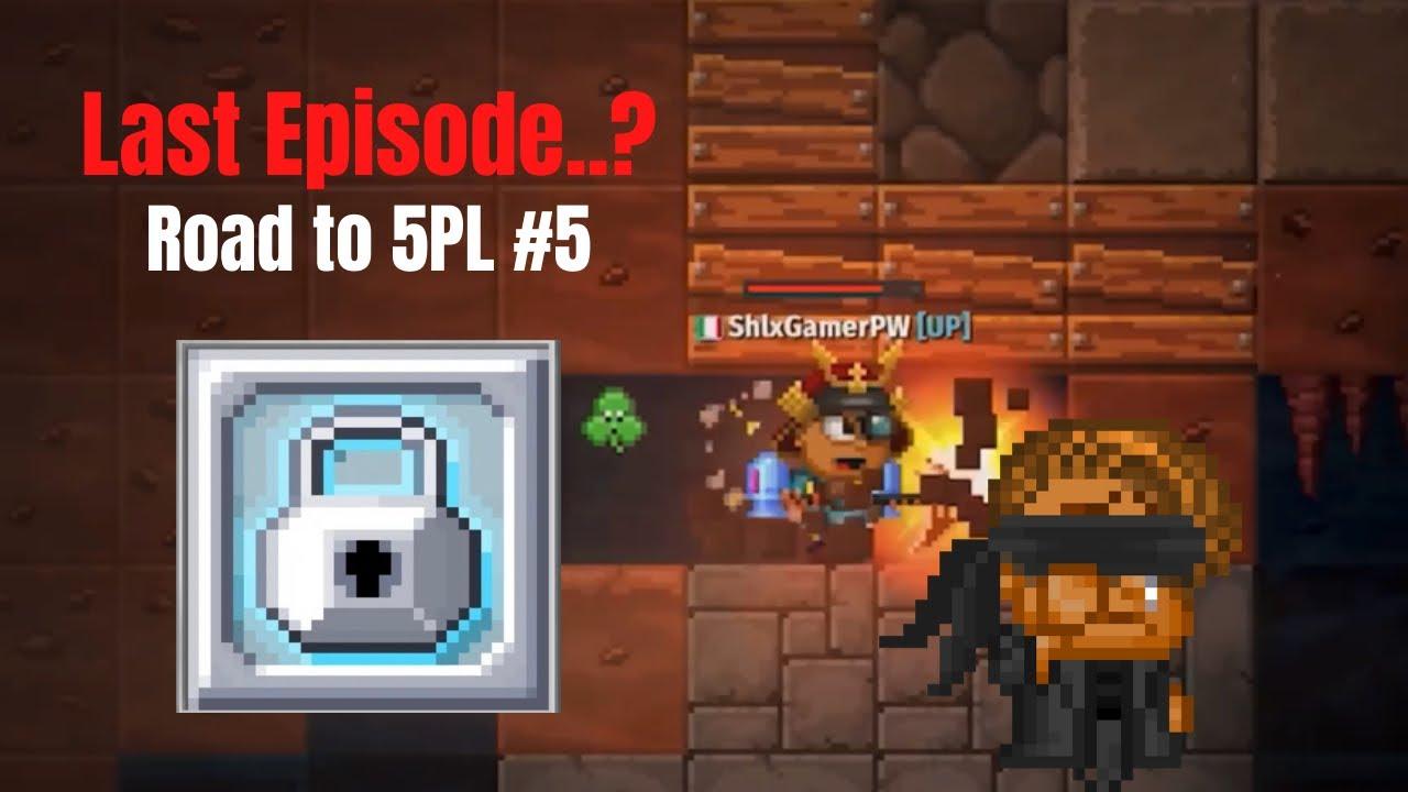 Download Last episode..? | Road to 5PL #5 | Pixel Worlds