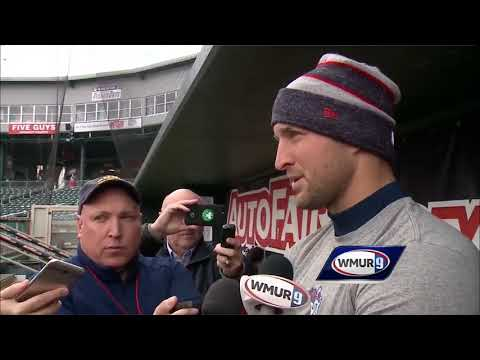 Tim Tebow In NH To Face NH Fisher Cats