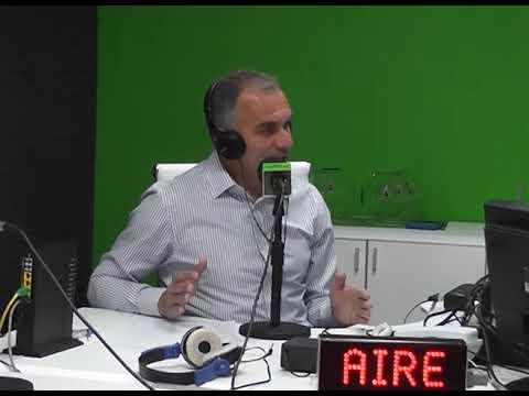 Mauro Daniele En El Estudio De FM Vive! 98 3