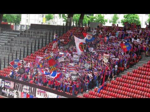 Fans: FC Basel Fans in Zürich - 28.05.2017