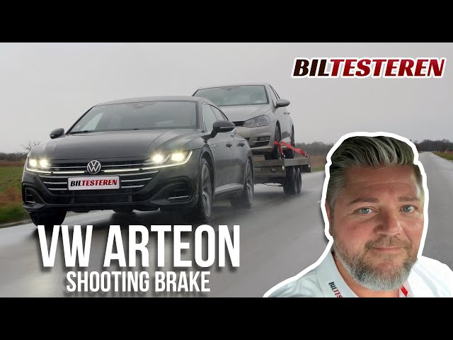 Med Golf VII på krogen! VW Arteon Shooting Brake (test)