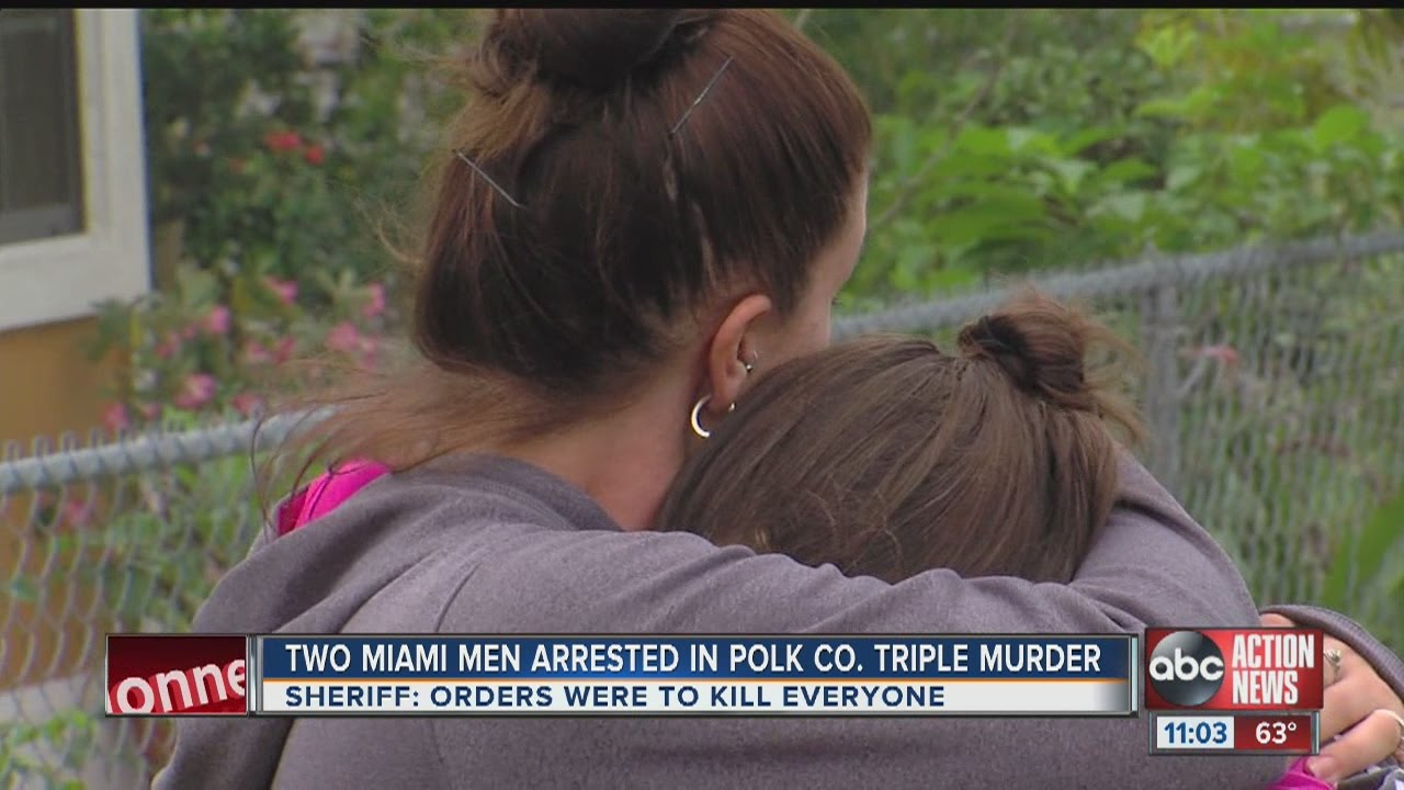 2 Miami men arrested in Polk triple homicide