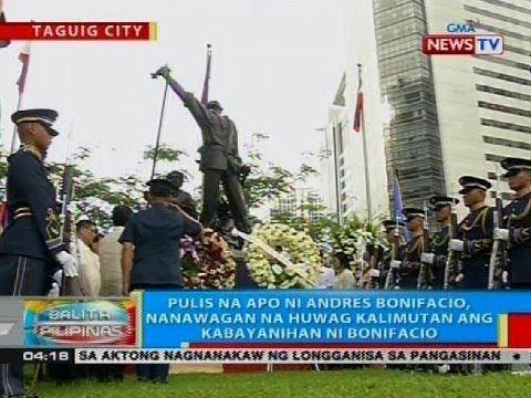 Pulis na apo ni Andres Bonifacio, nanawagan ng huwag kalimutan ang kabayanihan ni Bonifacio