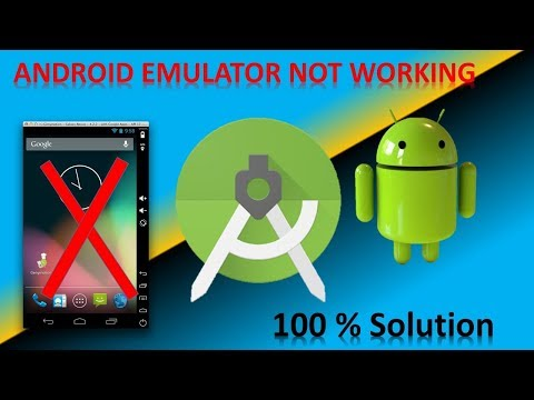 Emulator Not  Working In Android Studio, Error: X86 Emulation  FIX (2019)