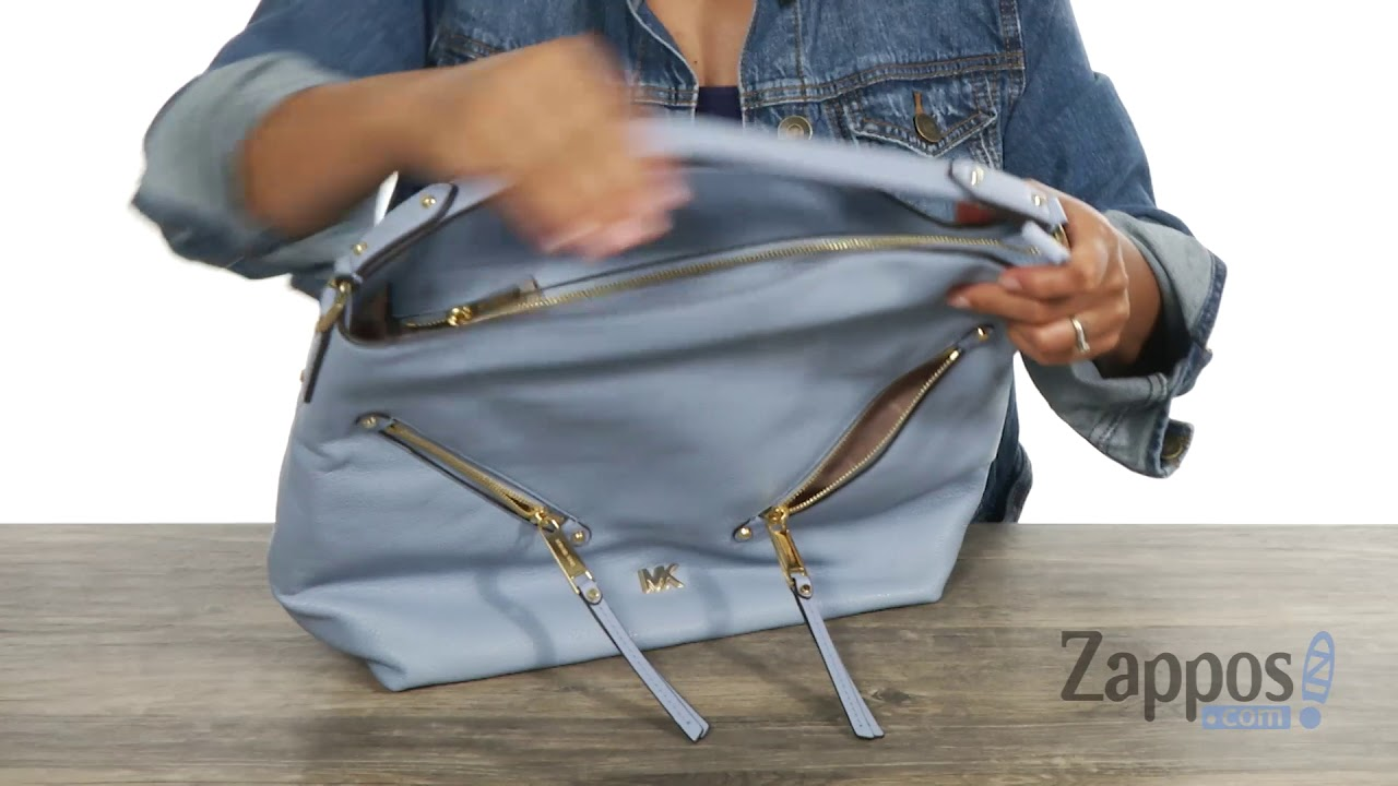 379d7c6eb85542 MICHAEL Michael Kors Evie Large Hobo SKU: 9113021 - YouTube