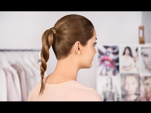 Video hướng dẫn: Bím tóc xoắn cao